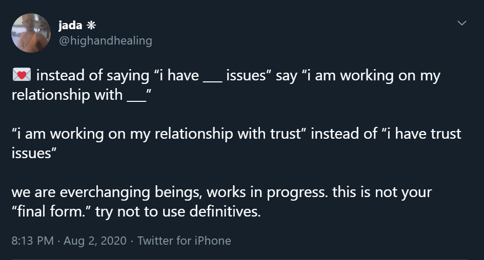 Healing while in a relationship